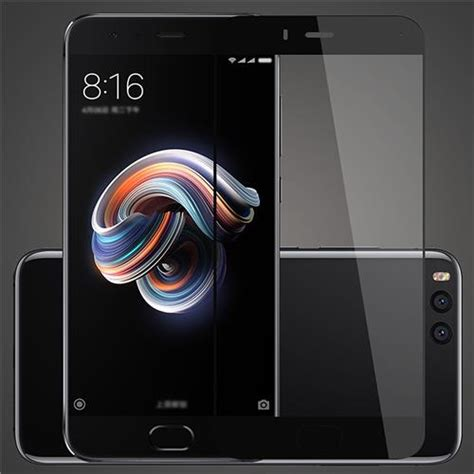 Xiaomi Tempered Glass 0 26 Mm 2 5d 9h Screen Gurd Pro Limited black xiaomi mi note 3 tempered glass 0 26mm 2 5d screen