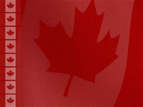 canada flag 03 powerpoint templates