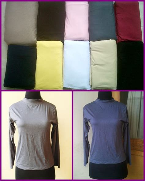 Baju Manset Badan Kaos Polosdh343 grosir atasan manset kaos grosir gamis murah surabaya