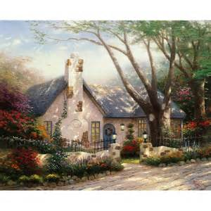 kinkade morning cottage