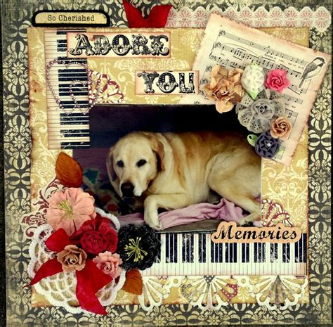 scrapbook layout ideas for pets 94 best ideas about shabby vintage pet scrapbook pages