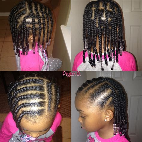 pictures of cornrows for black kids box braids cornrows beads natural hairstyles for kids
