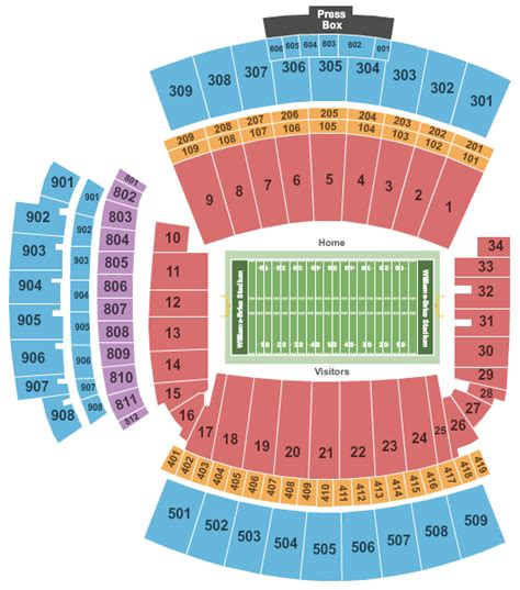 clemson stadium seating chart with rows gamecocks tickets south carolina gamecocks tickets
