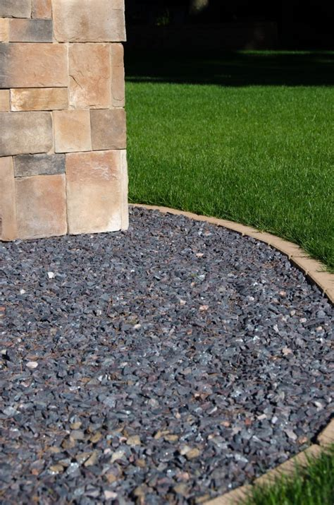 black granite rock landscaping www pixshark images