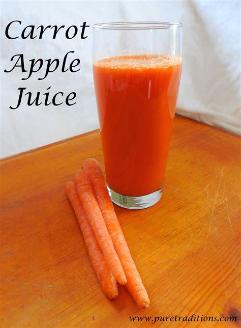 Apple Carrot Juice Detox by Carrot Apple Juice Recipe
