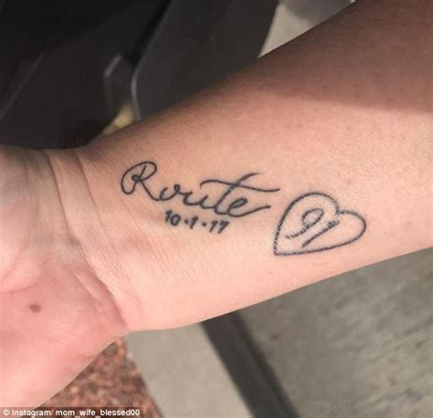 las vegas survivors memorialize massacre with tattoos