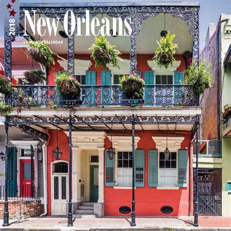 New Orleans Calendar New Orleans Calendar 2018