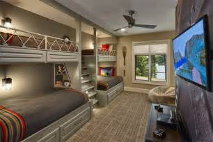 Plans For Building Bunk Beds With Stairs by 22 Cool Designs Of Bunk Beds For Four Home Design Lover