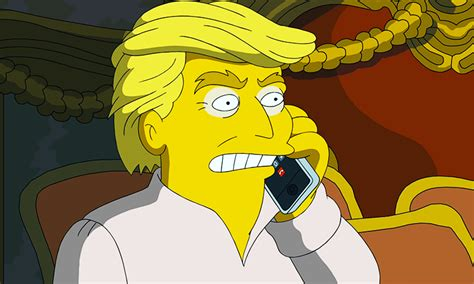 donald trump simpsons the simpsons attack donald trump in ruthless new video