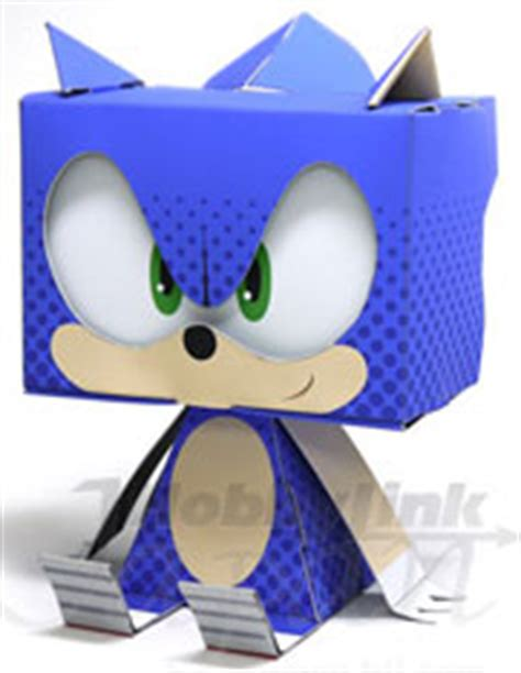 sonic the hedgehog paper crafts