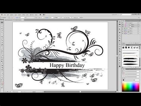 illustrator tutorial floral swirl ornaments butterfly 10 best images about flourishes on pinterest snowflakes