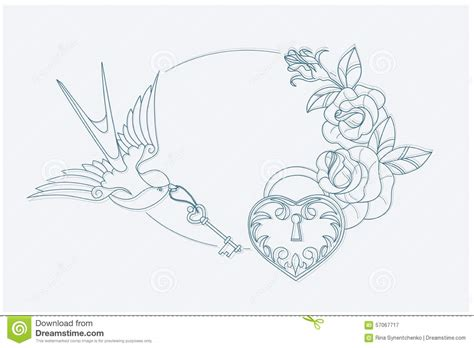 love themed coloring page love theme coloring page old school tattoo signs stock
