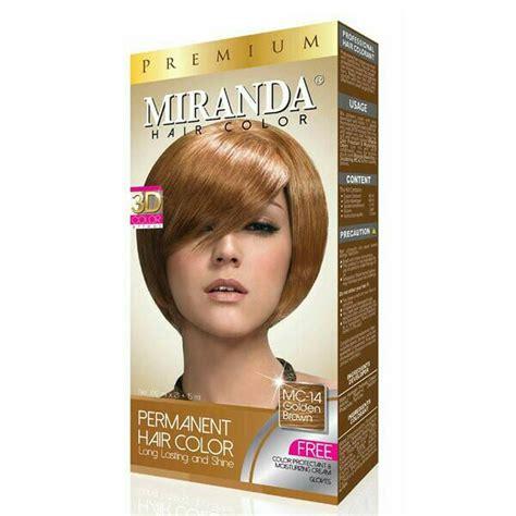 Semir Rambut Miranda Hair Color jual miranda hair color premium cat semir rambut besar cosme store