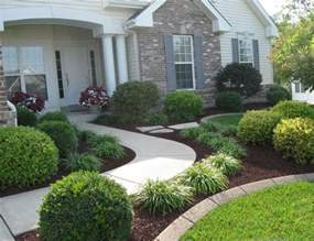 simple front yard landscaping ideas pictures home