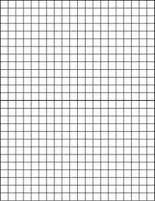 Empty Grid Geometry Tools Elementary Blank Grid