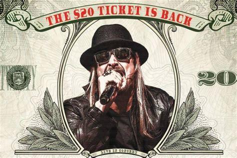 Kid Rock 2015 Tour Dates Ticket Presale Codes Announced