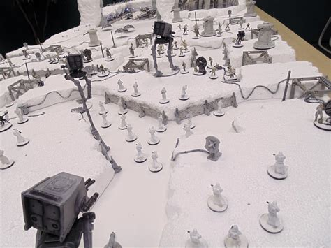 star wars table vlog we ve finished the star wars battle of hoth gaming table