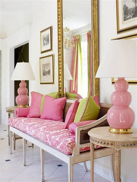 pink color combinations modern interior decorating with pink color combinations