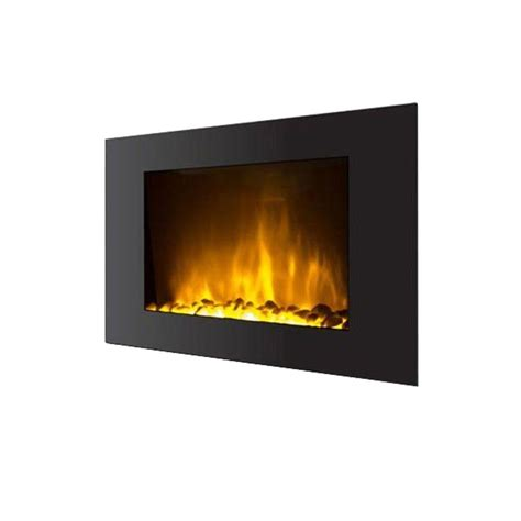 warm house warm house oslo 35 in wall mount electric fireplace with color changing in