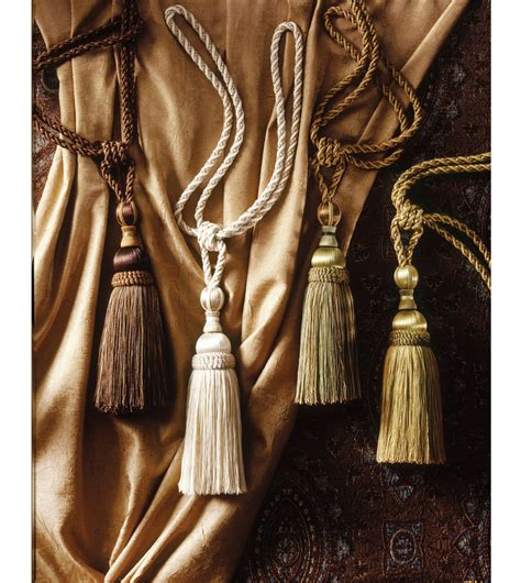 curtain tassel tie backs luxury bedding by eastern accents cortina tassel