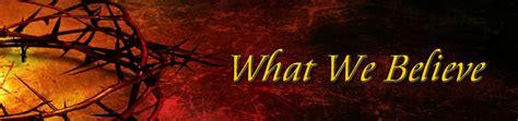 What We Believe new salem baptist church our beliefs