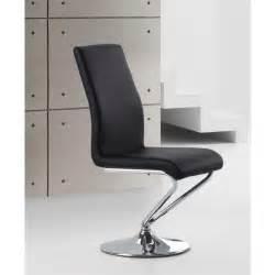chaises design noir turn par4 achat vente chaise