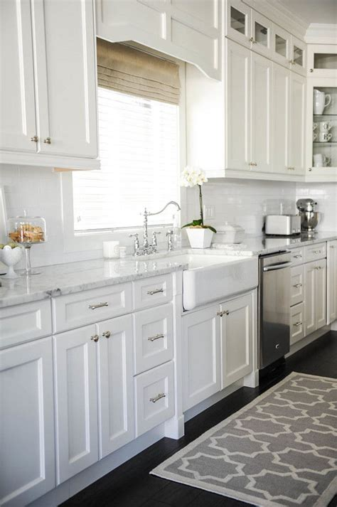 White On White Kitchen Ideas Best 25 White Kitchen Cabinets Ideas On Pinterest White Cabinets Backsplash White Cabinets