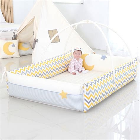 bumper bed aguard bumper bed moonstar blueberry m mummybebe