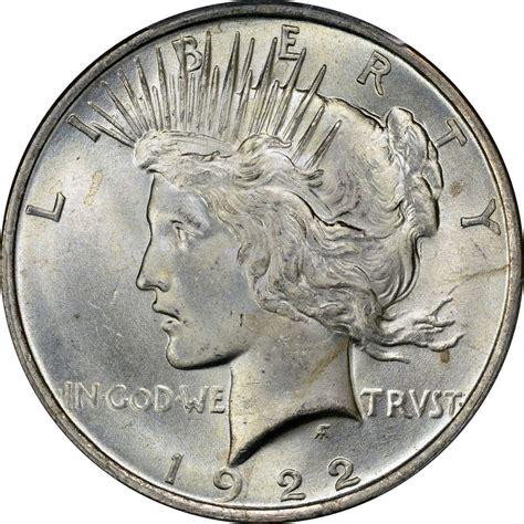 1922 peace silver dollar brilliant uncirculated bu ebay
