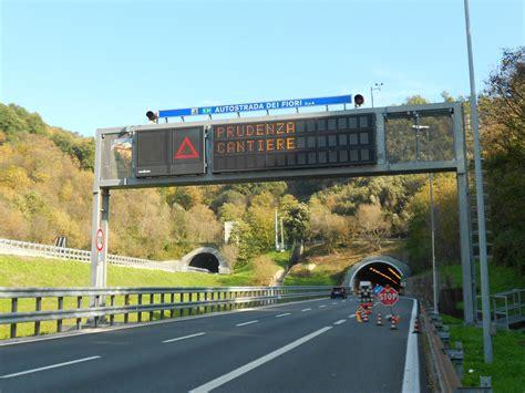 viabilita autostrada dei fiori viabilit 224 a10 autostrada dei fiori i cantieri della