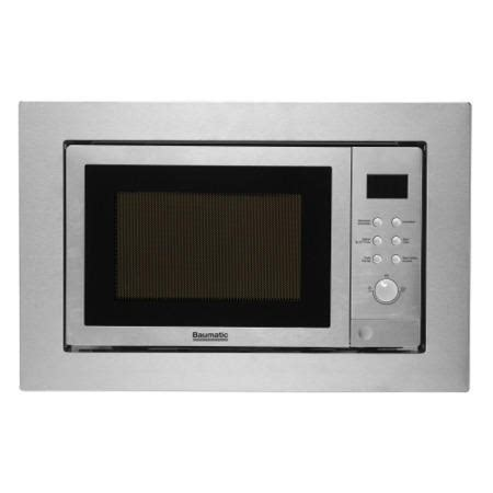 Baumatic Bmc253ss 25 Litre Built In Combi Microwave Stainless Steel Appliances Direct