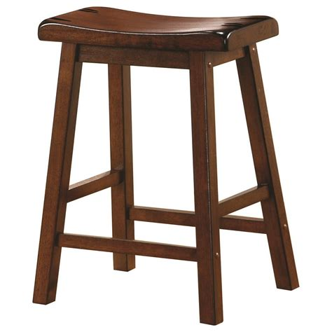 Coaster Furniture Bar Stools by Coaster Dining Chairs And Bar Stools 24 Quot Wooden Bar Stool