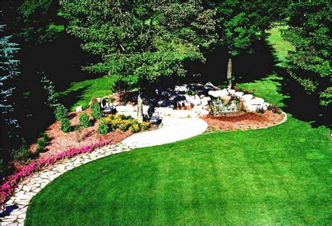 Landscape Ideas In Gorgeous Large Front Yard Landscaping Backyard Landscape