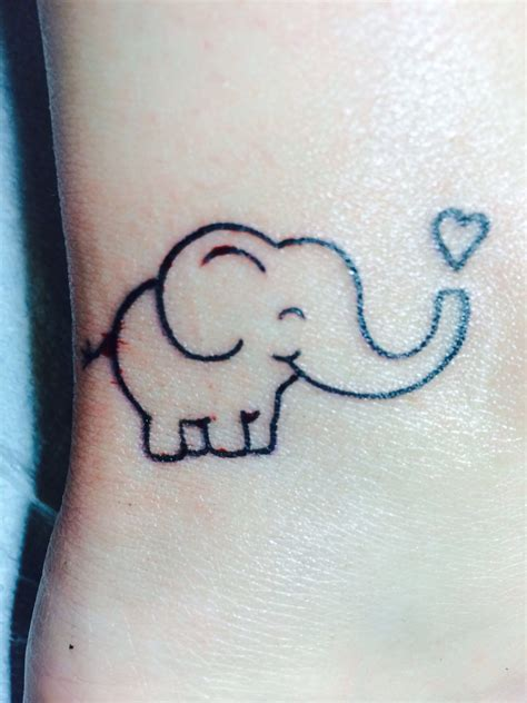 tattoo lexington ky happy elephant done by at bleed blue