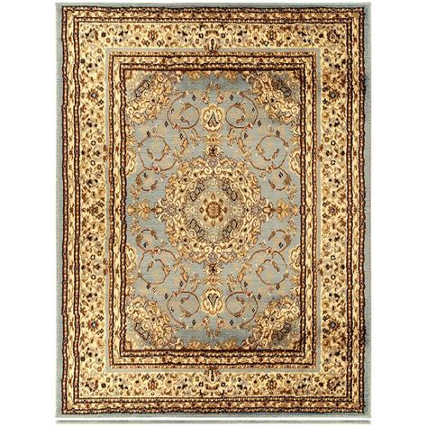 home depot 5x7 area rugs ottomanson traditional medallion brown 5 ft 3 in x 7 ft area rug ryl1078 5x7 the