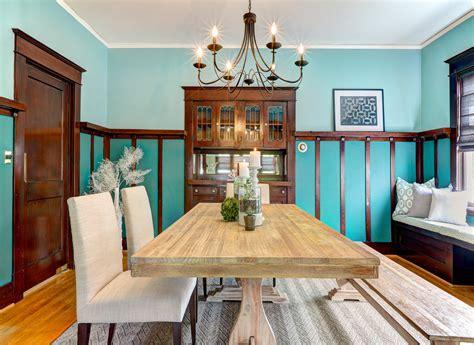 craftsman home craftsman dining room seattle