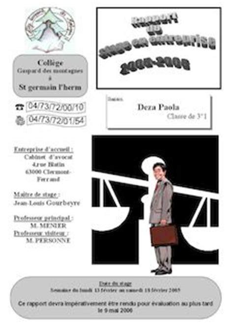 Rapport De Stage Cabinet D Avocat by Rapport De Stage Cabinet D Avocat Jean Louis Gourbeyre