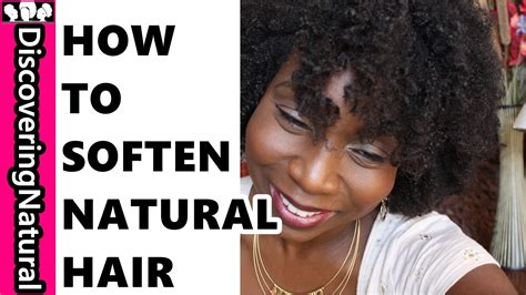How To Keep Hair by How To Soften Hair To Prevent Breakage