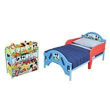mickey mouse room in a box home kitchen nursery furniture on toddler bed bed rails and mickey mouse