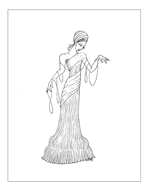 unique fashion coloring book for adults books aart deco coloring pages coloring home