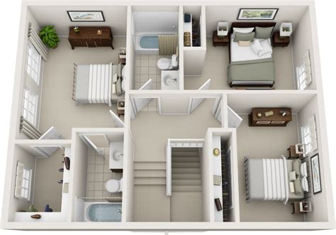 bedroom bath apartment floor s and bathroom st floor floor three bedroom floor plans charleston hall apartments