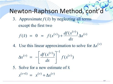 flowchart of newton raphson method newton raphson method for load flow analysis