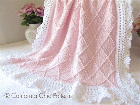 bettdecke stricken free knitting patterns for baby blankets my