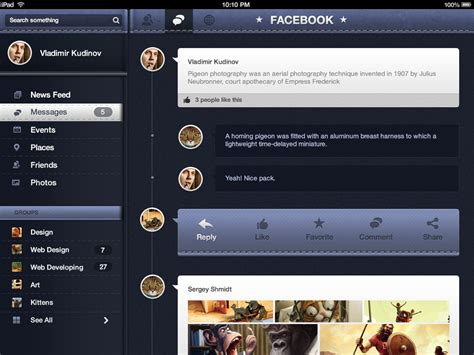 ui decorator pattern pandora ui free for ios user interface pack designmodo