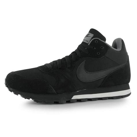 Nike Md Runner Favorite nike md runner 2 high top trainers mens black black grey
