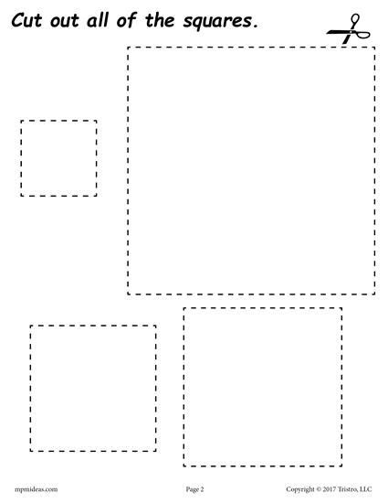 printable practice cutting sheets 12 free printable shapes cutting worksheets printable