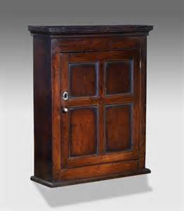 Large Kitchen Cabinet Antique Oak Cupboard Old Wooden Cupboard Georgian