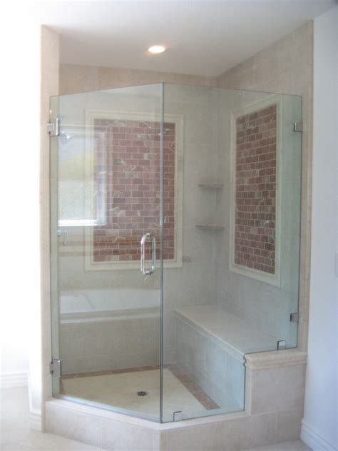 Bathtubs With Glass Enclosures by Frameless Shower Tub Enclosures Ultra Glass Clear Glass