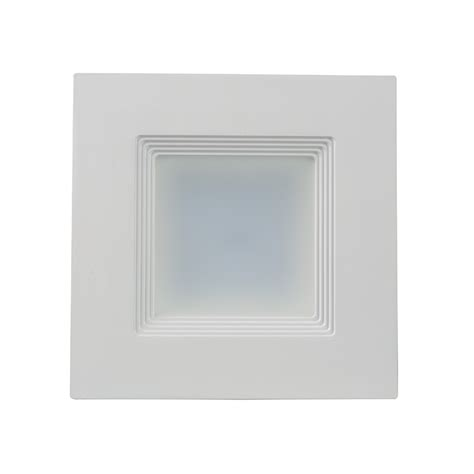 square can lights square led recessed lighting kit for 5 quot 6 quot cans retrofit