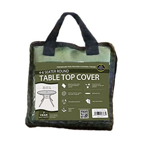 table top cover 4 6 seater table top cover green